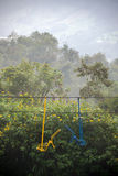 Chair Lift near Manizales, Colombia Royalty Free Stock Photo