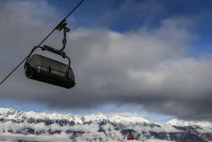 Chair Lift Royalty Free Stock Images