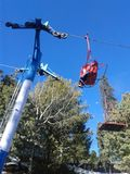 Chair lift Royalty Free Stock Photo