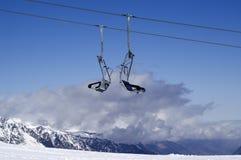 Chair-lift. Ski resort. Stock Image