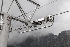 Chair lift unit Stock Photo
