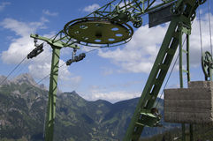 Chair Lift Wheel Royalty Free Stock Photos