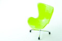 Chair made by plastic Stock Photography