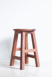 Chair made ​​of wood Royalty Free Stock Photo
