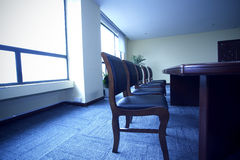 The chair of the meeting room Stock Photo