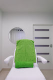 Chair in modern healthy beauty spa salon. Interior of treatment room. Royalty Free Stock Photo