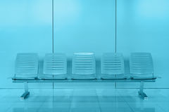 Chair in modern office building Stock Images