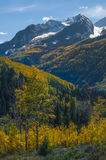 Chair Mountain Elk Mountain Range Gunnison County Royalty Free Stock Image