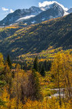 Chair Mountain Elk Mountain Range Gunnison County Stock Photo