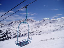 chair mountains Royaltyfri Foto