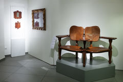 Chair in  Museum of Catalan Modernisme Stock Photography