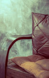 Chair near ( Filtered image processed vintage effect. ) stock photos