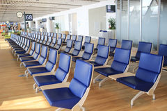 chair in New Chitose airport Chitose Hokkaido Japan Stock Image