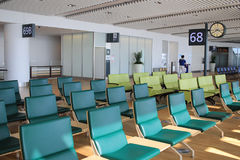 chair in New Chitose airport Chitose Hokkaido Japan Royalty Free Stock Images