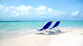 Free Chair On Beach Stock Photography - 9147132