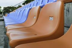 Chair orange No. 20 Stock Image