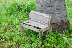 Chair park in holiday Stock Photo