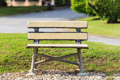 Chair in the park Royalty Free Stock Image