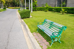 Chair in the park Royalty Free Stock Photos