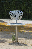 A chair in a park Stock Photography