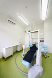 Chair for patient and drill for dentist Royalty Free Stock Photo