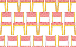 Chair pattern Royalty Free Stock Photography