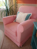 Chair Pink Stock Photo