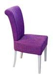 chair purplen fotografering för bildbyråer