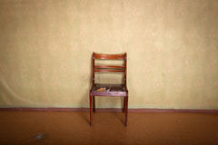 Chair in the room Royalty Free Stock Image