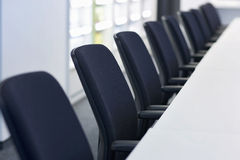 Chair row Royalty Free Stock Photography