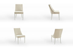 Chair Set 2 Stock Images