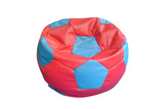Chair in the shape a soccer ball Stock Photography