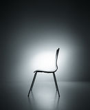 Chair silhouette Stock Image