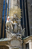 Chair of St. John of Capistrano. Vienna, St. Stephen's Cathedral Royalty Free Stock Images