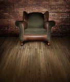 Chair on stage Royalty Free Stock Image