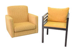 Chair and stool Royalty Free Stock Photo