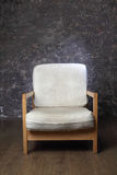 Chair in studio of photographer Royalty Free Stock Photography