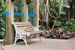 Chair on summer house Royalty Free Stock Photography