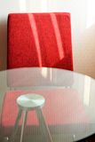 Chair and table furniture. In hotel Stock Photo