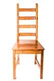 chair trä Fotografering för Bildbyråer