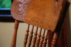 chair trä Royaltyfri Fotografi