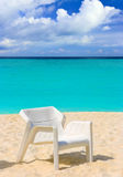 Chair on tropical beach Royalty Free Stock Image