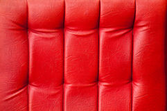 Chair upholstery. Red chair upholstery fbstract background Royalty Free Stock Images