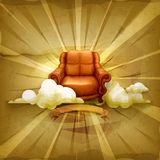 Chair,  vector background Royalty Free Stock Photo