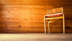 Chair in vintage interior Stock Photo