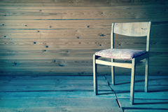 Chair in vintage interior Royalty Free Stock Photos