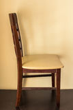 Chair of vintage Stock Image