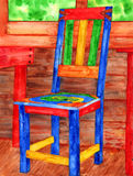 Chair Watercolor Royalty Free Stock Image