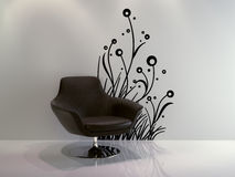 Chair on white Stock Photography