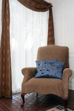 Chair by Window Royalty Free Stock Photography